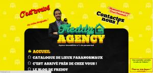 Le site de Freddy Agency - Haut en couleur !