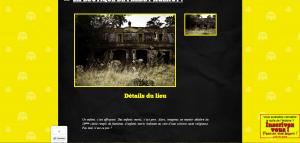 Freddy Agency est avant tout une agence immobilière : les internautes pouvaient y découvrir des lieux hantés
